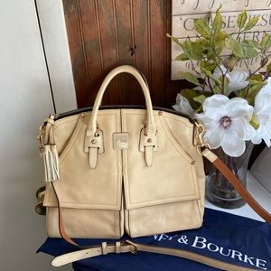 Dooney Bourke Florentine Clayton Satchel